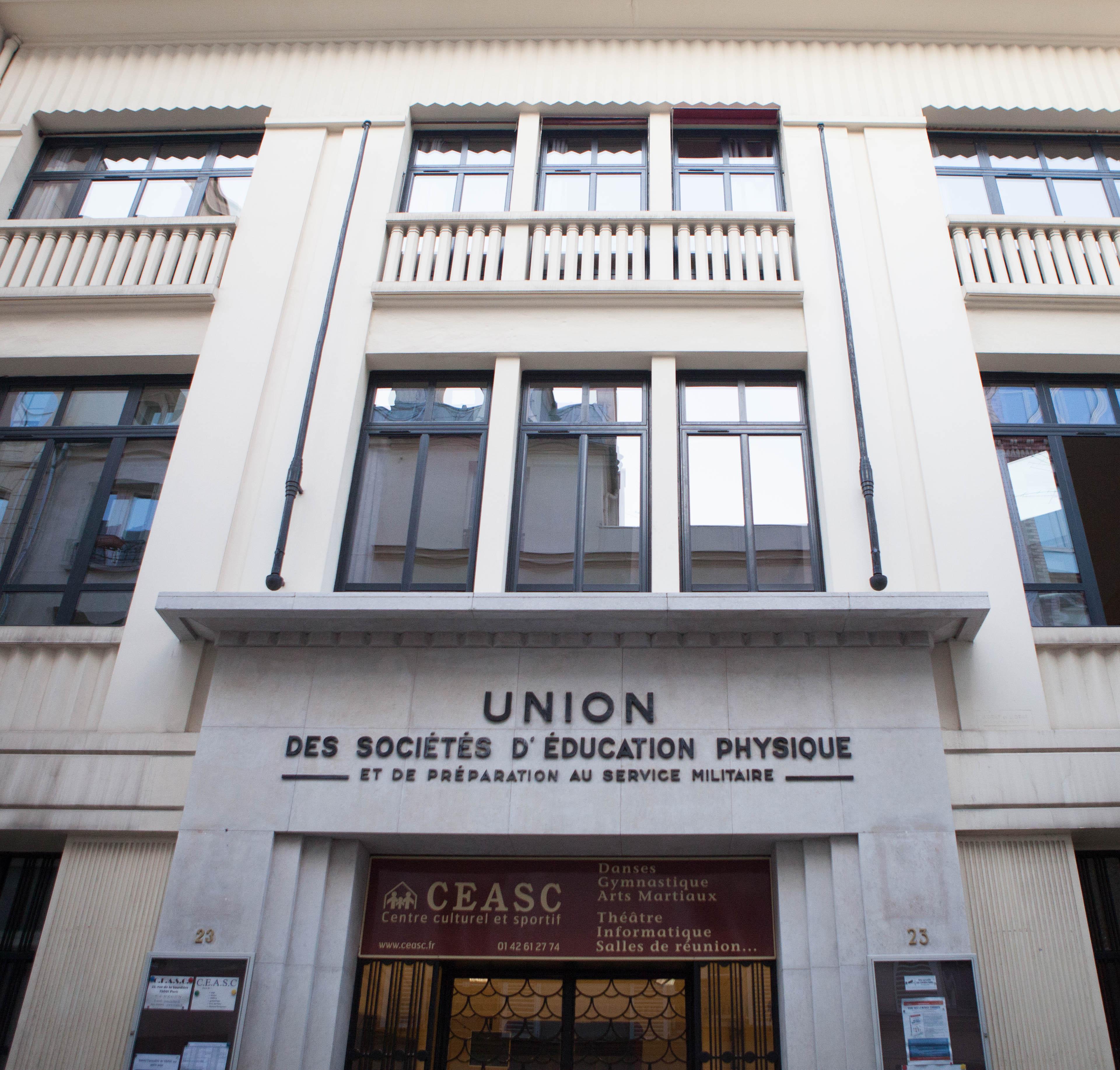CEASC façade